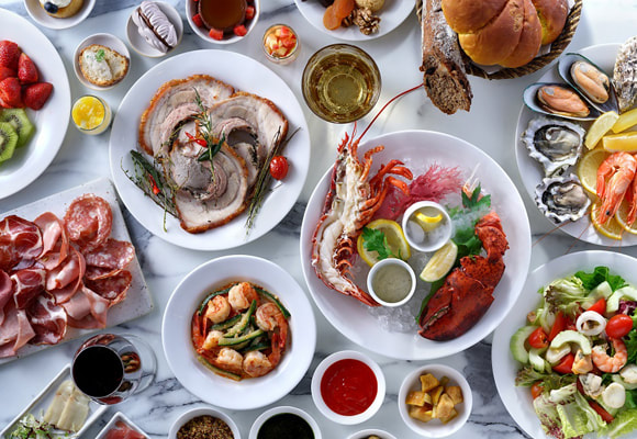 Sunday brunch at Park Hyatt Saigon