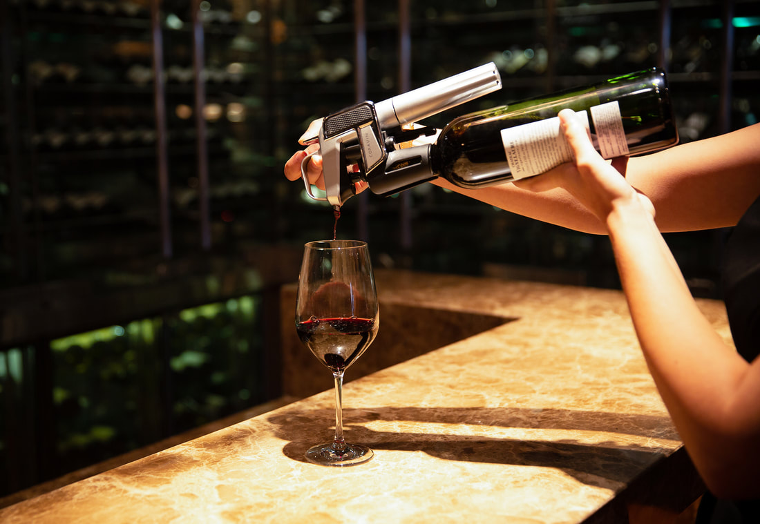 Coravin Wine Selection at Park Hyatt Saigon